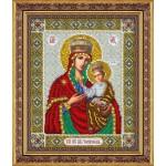 Набор для вышивания бисером Паутинка арт.Б1043 Пр.Богородица Черниговская 28х22 см