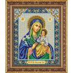 Набор для вышивания бисером Паутинка арт.Б1044 Пр.Богородица Неувядаемый цвет 28х22 см