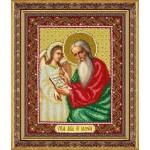 Набор для вышивания бисером Паутинка арт.Б1051 Св.Апостол Еванг.Матфей 28х22 см