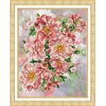 Набор для вышивания бисером Паутинка арт.Б1205 Садовые розы 28х22 см