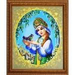 Набор для вышивания бисером Золотые Ручки арт. ЛМ-001 Любавушка 50x42 см