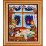 Набор для вышивания бисером Золотые Ручки арт. Ж-011 Рыжий проказник