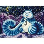 Набор для вышивания Сделай своими руками арт.ССР.Л-07 Лунный кот 28х20 см