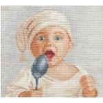 Набор для вышивания Сделай своими руками арт.ССР.М-25 Малыш 20х20 см