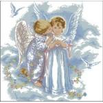 Набор для вышивания DIMENSIONS арт.DMS- 35134 (30х30 см) Поцелуй Ангела