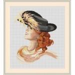 Набор для вышивания Орнамент арт. ЛД-002 Восторг 28х34