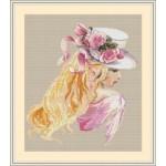 Набор для вышивания Орнамент арт. ЛД-003 Нежность 30х33