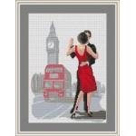 Набор для вышивания Орнамент арт. ЛД-009 Англия 21х29