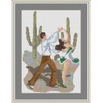 Набор для вышивания Орнамент арт. ЛД-013 Мексика 22х29см