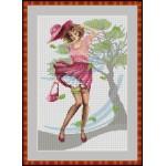 Набор для вышивания Орнамент арт. ЛД-019 Ветер