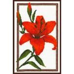 Набор для вышивания Палитра арт.01.002 Лилия 18*28 см