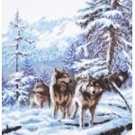 Набор для вышивания Палитра арт.03.006 Морозное утро 26*27 см