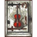 Набор для вышивания Палитра арт.04.001 Натюрморт со скрипкой 29*40 см