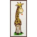 Набор для вышивания Палитра арт.05.002 Жирафик 9*25 см