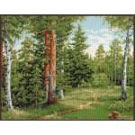 Набор для вышивания Палитра арт.08.006 Лесная тропинка 34*27 см