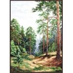 Набор для вышивания Палитра арт.08.007 Сосновый лес 26*36 см