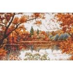 Набор для вышивания Палитра арт.08.008 Отражение осени 39*26 см