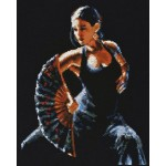 Набор для вышивания Палитра арт.10.003 Фламенко 24*30 см
