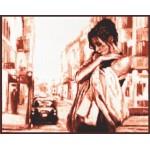 Набор для вышивания Палитра арт.11.001 Ожидание 33*27 см
