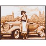 Набор для вышивания Палитра арт.11.004 Ретро 35*36 см