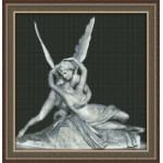 Набор для вышивания Юнона арт.0101 Амур и Психея 29х30см