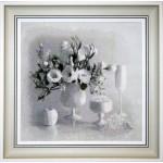 Набор для вышивания Юнона арт.0104 Белый натюрморт 36х35см
