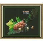 Набор для вышивания Юнона арт.0124 Виноград и вино 41,5х33см