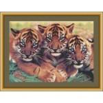 Набор для вышивания Юнона арт.0202 Близнецы 35х25см