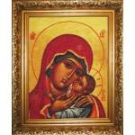 Набор для вышивания Юнона арт.0203 Богородица Касперовская 28х35,5см