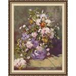 Набор для вышивания Юнона арт.0205 Весенний букет 30х40см