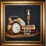 Набор для вышивания Юнона арт.0209 Свеча и время 31х29см