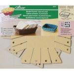 Набор форм для изготовления корзин (квадратнаябол) Clover арт. 8424