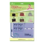 Набор шаблонов для раскроя сумок City Bag Collection Clover арт. 9501
