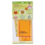 Набор шаблонов для раскроя сумок Florida Collection Clover арт. 9515