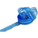Подарочная лента арт. Р 8216 шир. 25мм цв. синий уп.25м