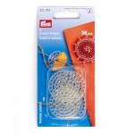 PR.312103 PRYM Декоративные пуговицы для отделки пряжей, бисером 36мм уп.6шт