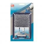 PR.610156 PRYM Подложка для валяния 8*13 см пластик цв. белыйфиолетовый