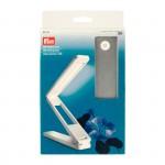 PR.610719 PRYM Складная светодиодная лампа 18*4*3cм (в сложенном состоянии) цв. белыйсеребристый