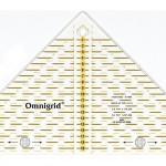PR.611313 PRYM Проворный треугольник с сантиметровой шкалой для 14квадрата до 20см уп.1шт