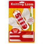 Приспособление для плетения шнура и вязания помпонов