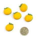 Пуговица арт.48084 Апельсин цв.113235 21 мм