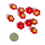 Пуговица арт.48275 Цветок цв.145109 17 мм