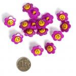 Пуговица арт.48275 Цветок цв.304506 17 мм