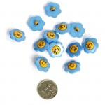 Пуговица арт.48275 Цветок цв.319110 17 мм