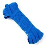 Резинка арт.с39к 7-8мм. цв.синий уп.10м