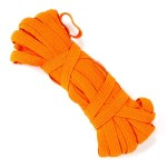 Резинка арт.с39к 7-8мм. цв.оранжевый уп.10м