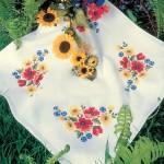 SCH.6710230 Набор для вышивания скатерти SCHAFER 80*80см