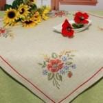 SCH.6739283 Набор для вышивания скатерти SCHAFER 80*80см
