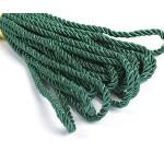 Шнур декоративный 5мм арт.ТВ DR-05 цв.052 зеленый уп.9м