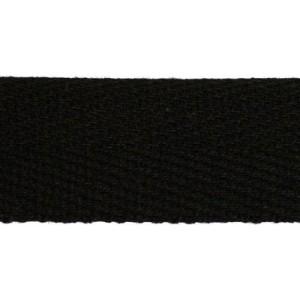 Тесьма киперная 2с-257к , 22 мм , цвет черный